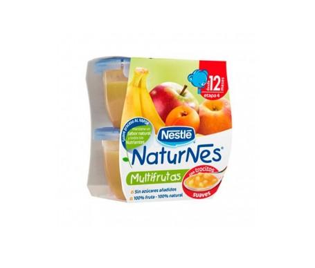 Naturnes Multifrutas Con Trocitos  130 G 2 U