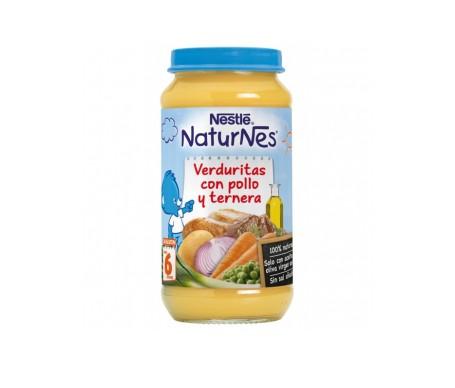 Naturnes Pure Verduritas Al Vapor Pollo Ternera  200 G 2 U