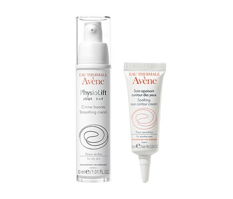 Avène Physiolift día crema antiarrugas 30ml + contorno de ojos hidratante 10ml