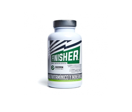 Kern Finisher Multivitaminico Y Minerales 60 Caps