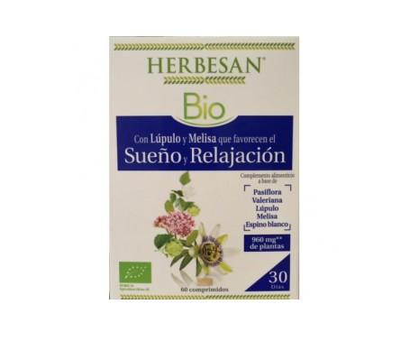 Herbesan Sueño Y Relajacion Bio 60 Comp