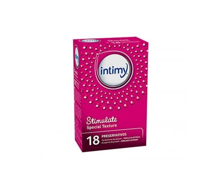 Intimy Stimulate Special Texture 18 Preservativos