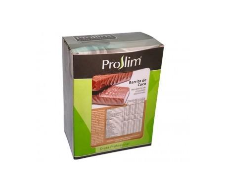 Proslim barritas proteicas de coco 7uds