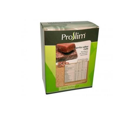 Proslim barritas proteicas de café 7uds
