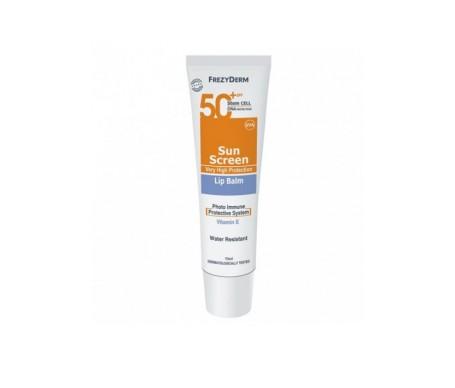 Frezyderm Sunscreen Lip Balm 50+  15 Ml