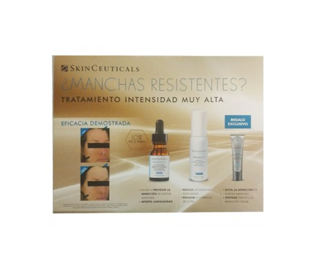 Skinceuticals Pack permanent spots and wrinkles