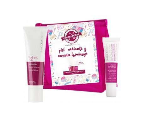 Singuladerm Xpert Radiant Forte 50ml radiant skin and luminous look + 15ml eye contour gift pack