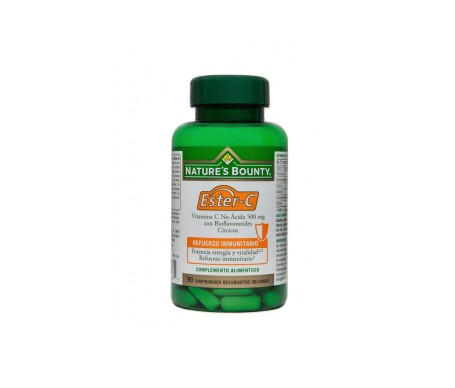 Nature's Bounty Ester-c Vitamina C 500 Mg Con Bioflavonoides 90