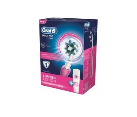 Oral-B Pack Crossaction Pro 750 3D + estuaire de viaje
