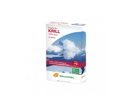 Vallesol aceite de krill 100% puro 30cáps
