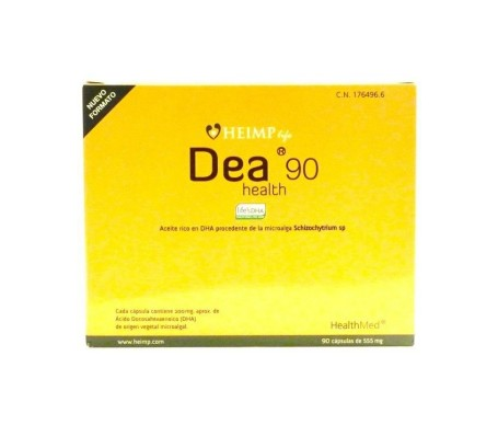 Dea Health 90  Cápsulas 555 Mg
