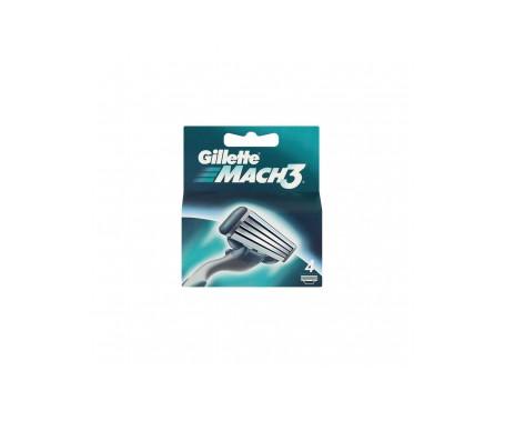 Gillette Mach3 recambios 4uds