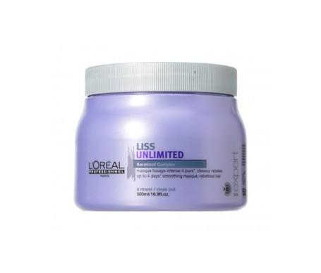 L'Oréal Expert Liss Unlimited mascarilla 500ml