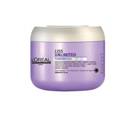 L'Oréal Expert Liss Unlimited mascarilla 200ml
