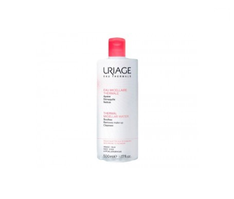Uriage Agua Micelar Termal pieles con rojeces 500ml