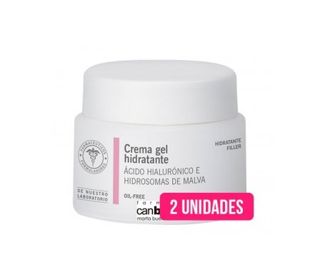 Crema gel hidratante - oilfree can boada 50 ml 2 uds
