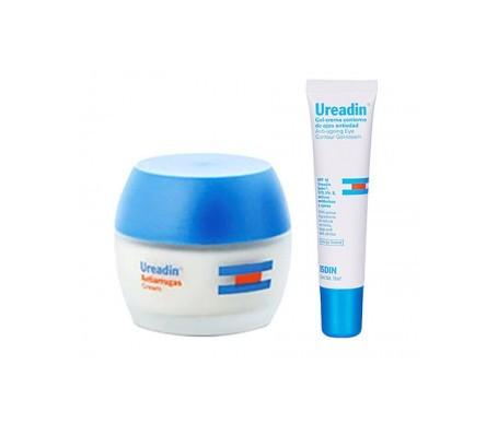 Ureadin® Pack crema antiarrugas correctora SPF15+ 50ml + contorno ojos antiedad gel crema 15ml