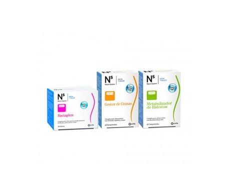 NS Plan Complet Diet Saciaplen + gestor de grasas + metabolizador de hidratos
