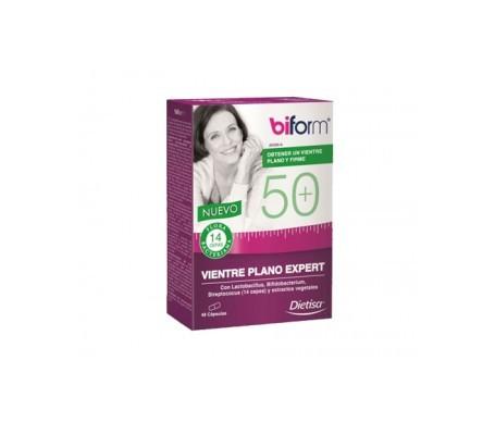 Biform 50+ Vientre Plano Expert 48cáps