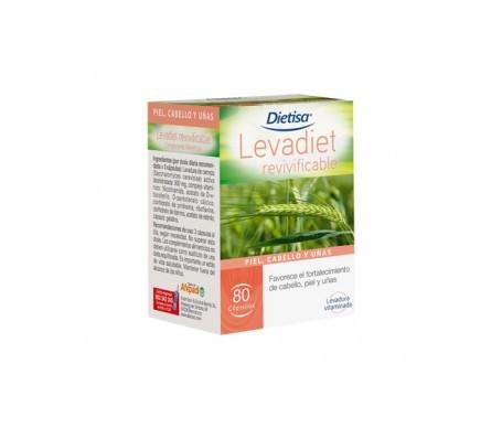 Dietisa levadiet revivificable 80cáps