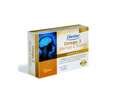 Dietisa omega 3 mental & visión 45 perlas