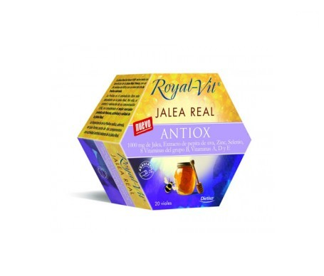 Dietisa jalea real royalvit antiox 20 viales