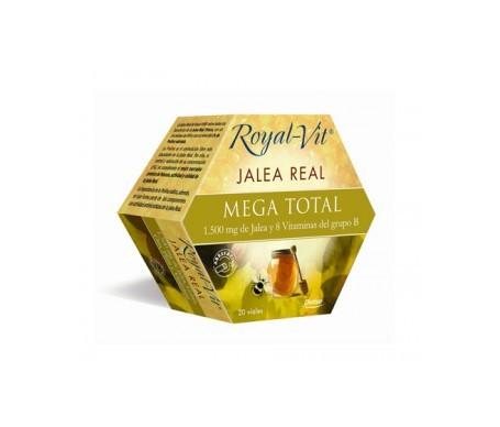 Dietisa jalea real royalvit mega-total 20 viales