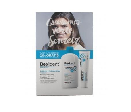Bexident® Pack Encías con Triclosan colutorio 500ml + pasta 125ml