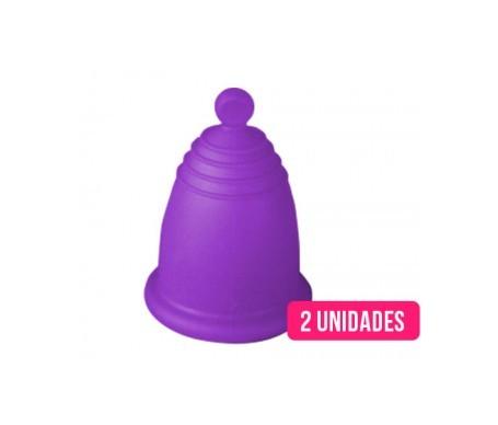MeLuna bonnets menstruels S/M manche à balles 2 pcs