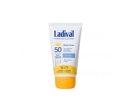 Ladival® Pieles Secas crema fluida fotoprotección alta con color SPF50+ 50ml
