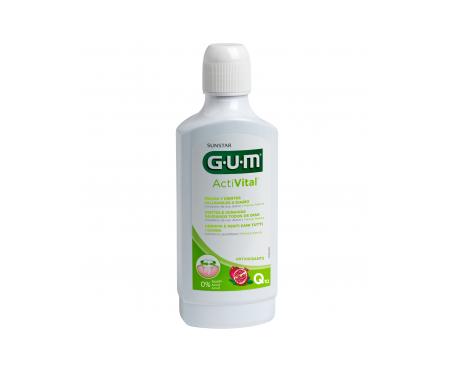 GUM® Activital Q10 Colutorio 500ml