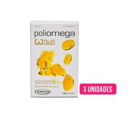 Poliomega 3udsx100 perlas