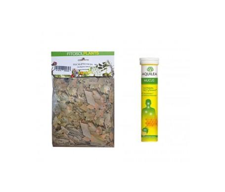 Aquilea Mucus 15comp efervescentes + Ynsadiet bolsa de eucaliptus 90g