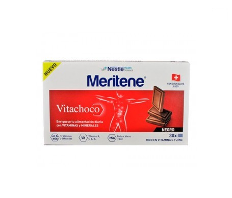 Meritene Vitachoco chocolate negro 30uds