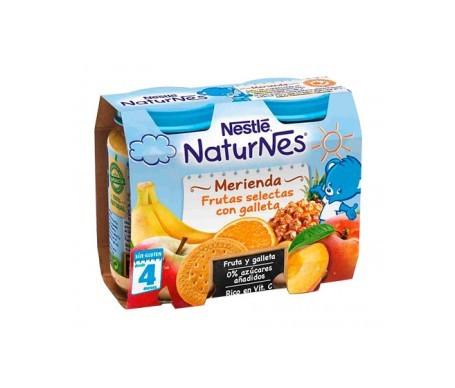 Naturnes Frutas Selectas Con Galleta Bipack 2x200 Ml