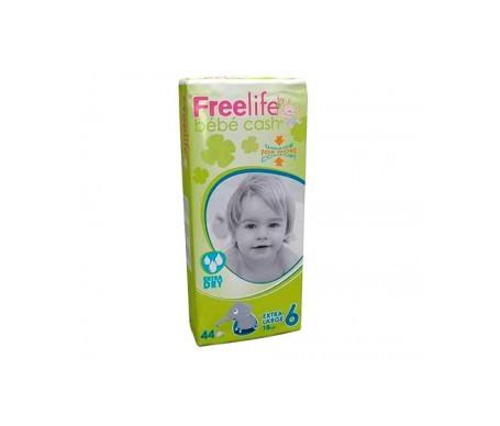Freelife Cash 6 pañal bebé Extra Large +18kg 44uds