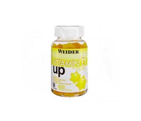 Weider Gummy Up Revolution Vitamine D Up 200g 50 gommes à mâcher