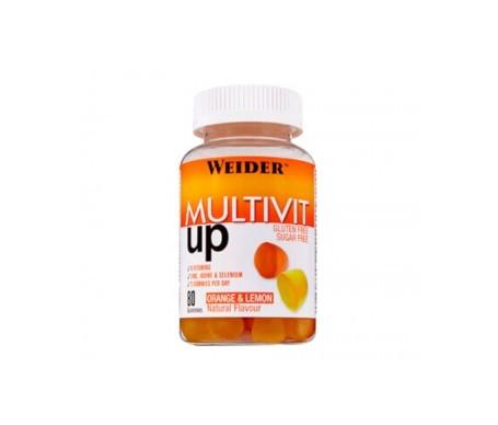 Weider Gummy Up Revolution Multivit Up 200g 80 gommes à mâcher