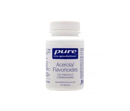 Pure Encapsulations Acerola/Flavonoids 60caps