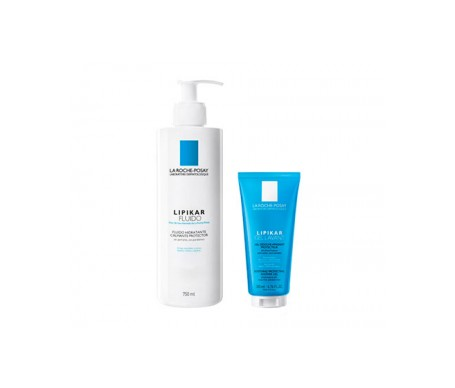 La Roche-Posay Lipikar fluido 750ml + gel lavante 200ml