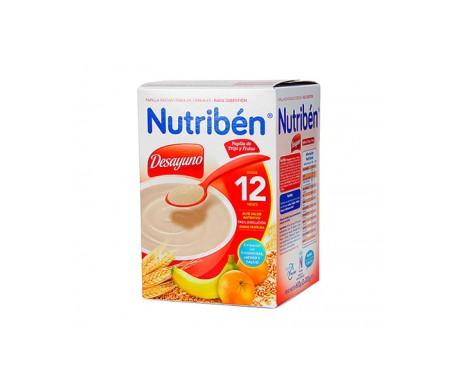 Nutribén® desayuno papilla de trigo con fruta 900g