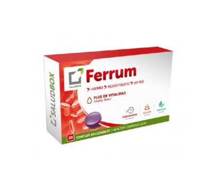 Saludbox Ferrum Plus Vitality 30 gum