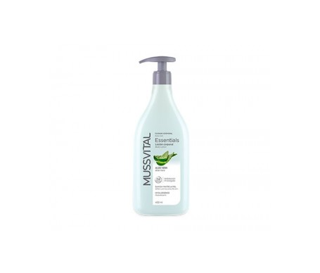 Mussvital Body Milk Aloe Dosificador 400 Ml