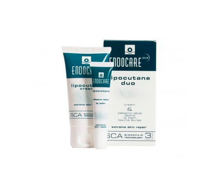 Endocare Lipocutane Duo 50ml + bálsamo labial 10ml