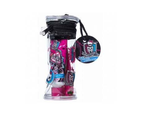 Cepillo Dental Viaje Monster High + Pasta 25ml En Neceser