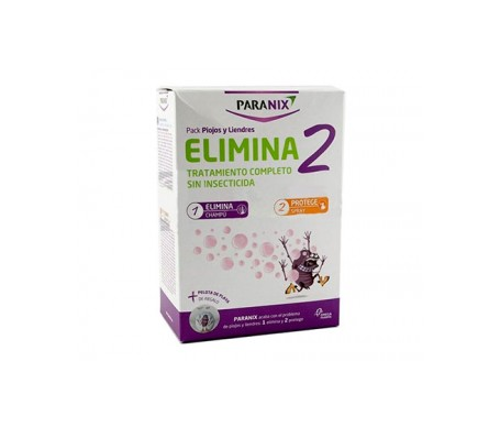 Paranix Pack Elimina2 Champú 200 Ml + Spray 100 Ml