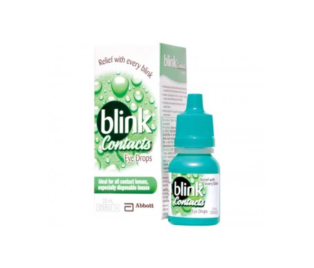 Blink contacts 3 uds x 10 ml.