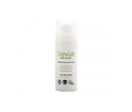 Steviak facial cream antiedad SPF15+ 50ml