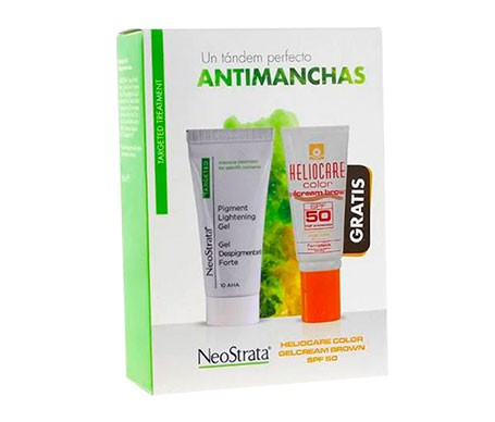Neostrata Pack Antimanchas Gel Despigmentante Forte 30ml+helioca