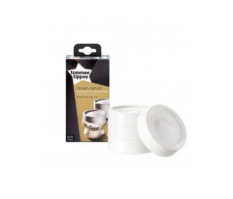 Tommee Tippee Tapa Biberon Closer To Nature 4 Unidades